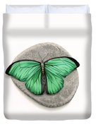 Mito Awareness Butterfly- A Symbol Of Hope Duvet Cover
