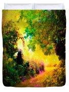 Heaven's Garden Duvet Cover
