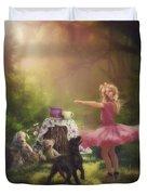 Dances In The Summer Duvet Cover