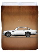 The Aston Martin Db5 Duvet Cover