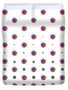 Rainbow Rose 01 Duvet Cover