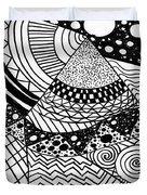 The Zendoodle Desert Duvet Cover