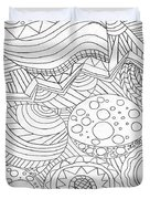 Zendoodle Design Duvet Cover