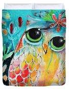 Owlette Duvet Cover