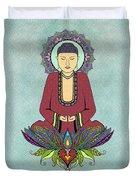 Electric Buddha Duvet Cover