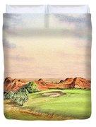 Arrowhead Golf Course Colorado Hole 3 Duvet Cover