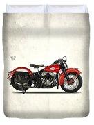 Harley-davidson Wld 1941 Duvet Cover