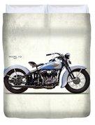 Harley Model Vd 1935 Duvet Cover