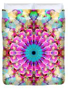 Mixed Media Mandala 9 Duvet Cover