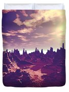 Arizona Canyon Sunshine Duvet Cover