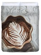 Morning Mocha Duvet Cover
