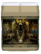 The Seven Monks Of  Tarthyohr  Duvet Cover