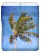 Tropical Palm Tree Duvet Cover