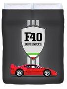 F40 Duvet Cover