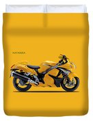 Hayabusa In Yellow Duvet Cover