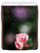 Romantic Rose Bud Duvet Cover