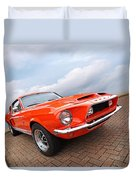 Shelby Gt500kr 1968 Duvet Cover