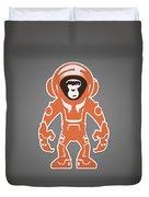 Monkey Crisis On Mars Duvet Cover