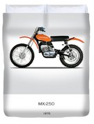 Harley Davidson Mx-250 Duvet Cover