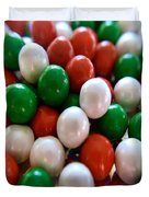 Christmas Candy Duvet Cover