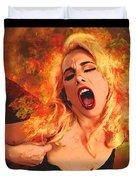 Phoenix Rising  Duvet Cover