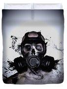 Zombie Warrior Duvet Cover