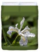 Iris Profile Duvet Cover
