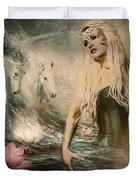 Goddess Of Bliss  Duvet Cover