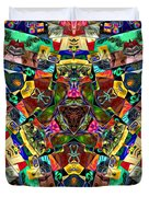 Abstract Of Abundant Colors Duvet Cover