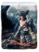 Unleashing Bloodlust  Duvet Cover