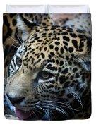 Jaguar Cub Duvet Cover