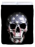 American Skull Duvet Cover