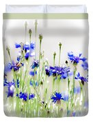 So Many Flowers, So Little Time Duvet Cover