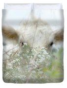 I See You - Sparkle Squares Duvet Cover