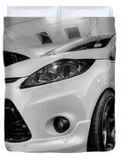 Ford Fiesta In Hdr Duvet Cover