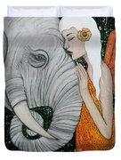 Erynn Rose Duvet Cover