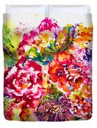 Watercolor Garden IIi Duvet Cover