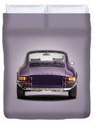 73 Porsche 911 Duvet Cover
