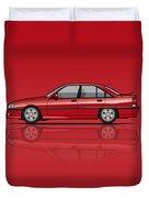 Opel Omega A, Vauxhall Carlton 3000 Gsi 24v Red Duvet Cover