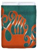 Yin And Yang, No. 3 Duvet Cover