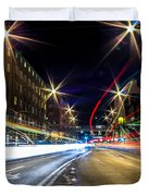Light Trails 2 Duvet Cover