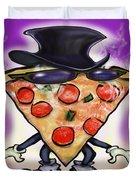 Classy Pizza Duvet Cover