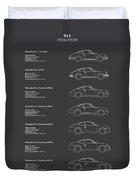 911 Evolution Duvet Cover