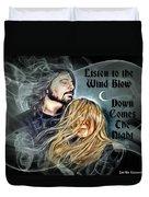 Stevie Nicks - Dave Grohl Duvet Cover