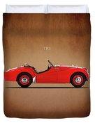 Triumph Tr3a 1959 Duvet Cover