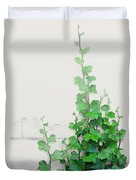 Vines By The Wall Duvet Cover