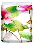 Flowers 03 Duvet Cover