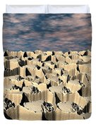 Surface Of Another World Duvet Cover