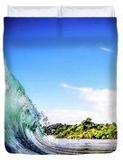 Tropical Wave Duvet Cover
