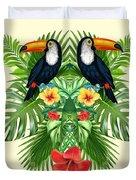 Tropical Summer  Duvet Cover